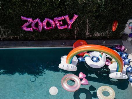 ZOOEY TURNS 7 #ZOOEYSTUCKINTHE80S