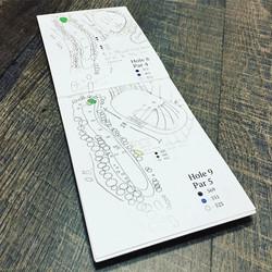 Golf Yardage Book
