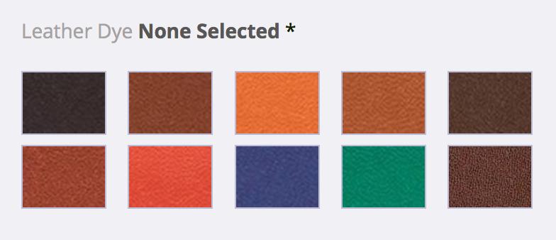 Back9B Leather Color