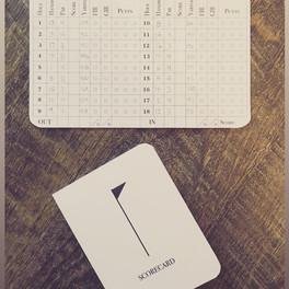 Individual Scorecard - Free Download