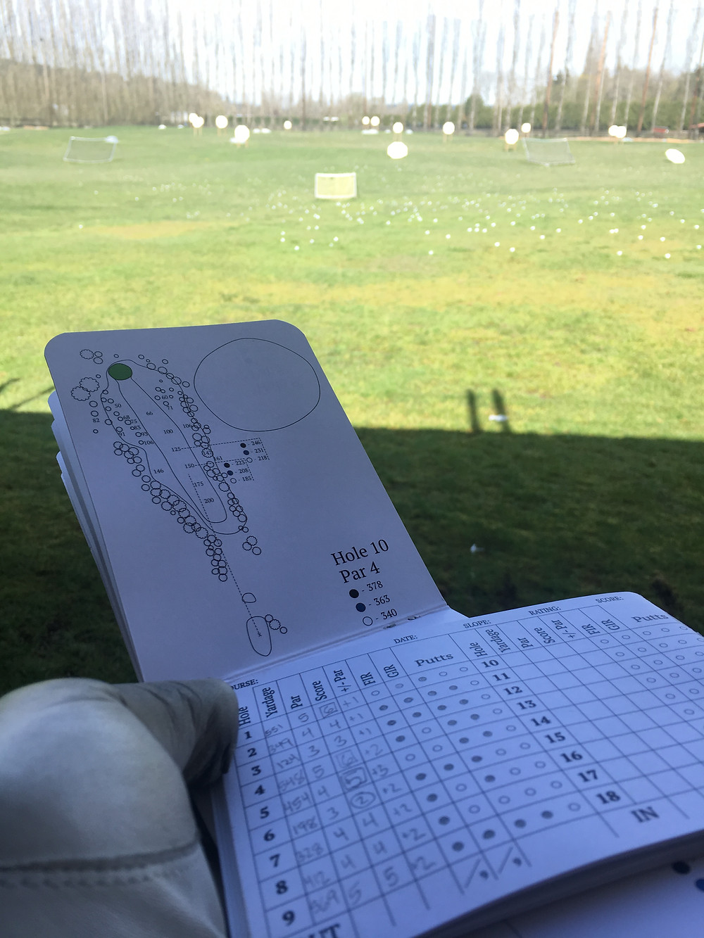 Yardage Book Tutorial