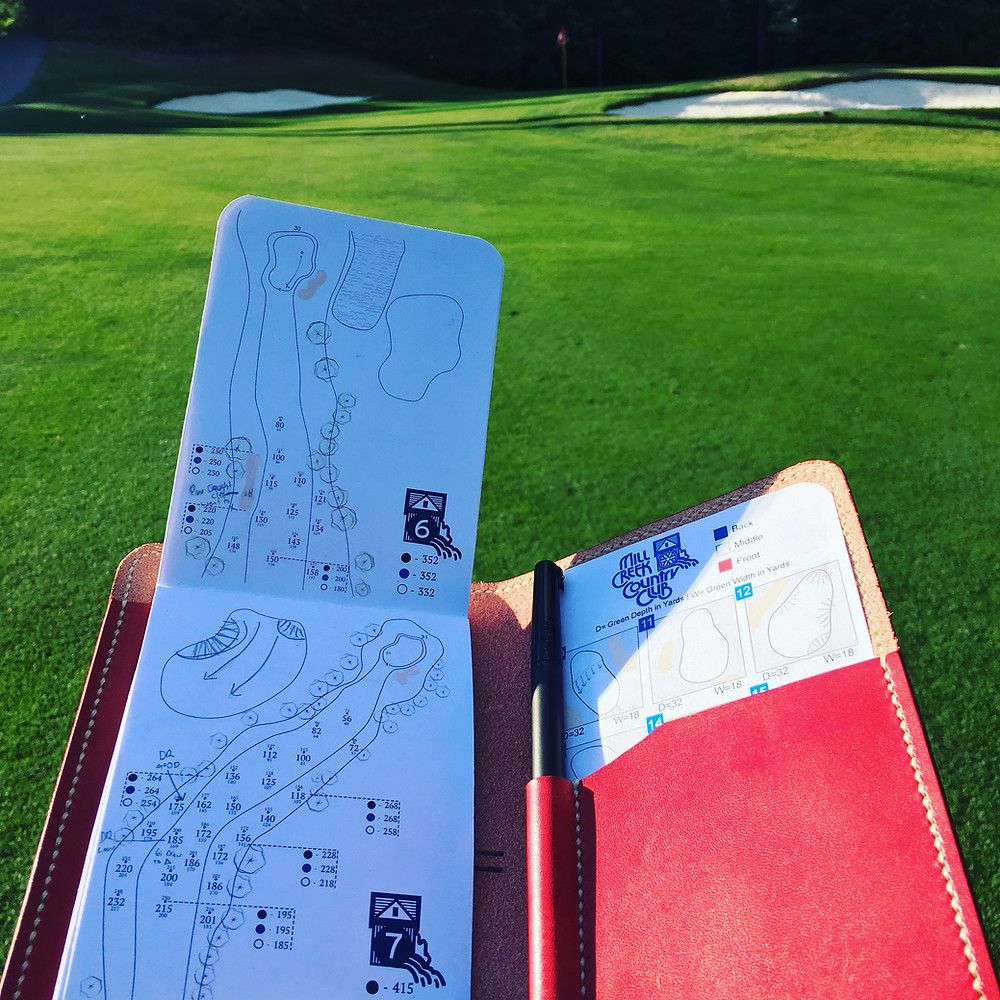 Flaghunting Golf Yardage Books