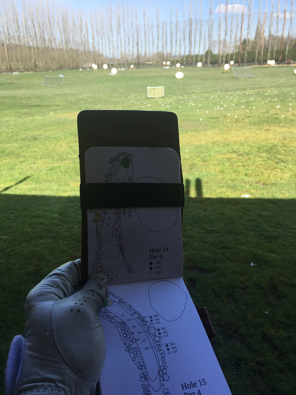 Using a Yardage Book