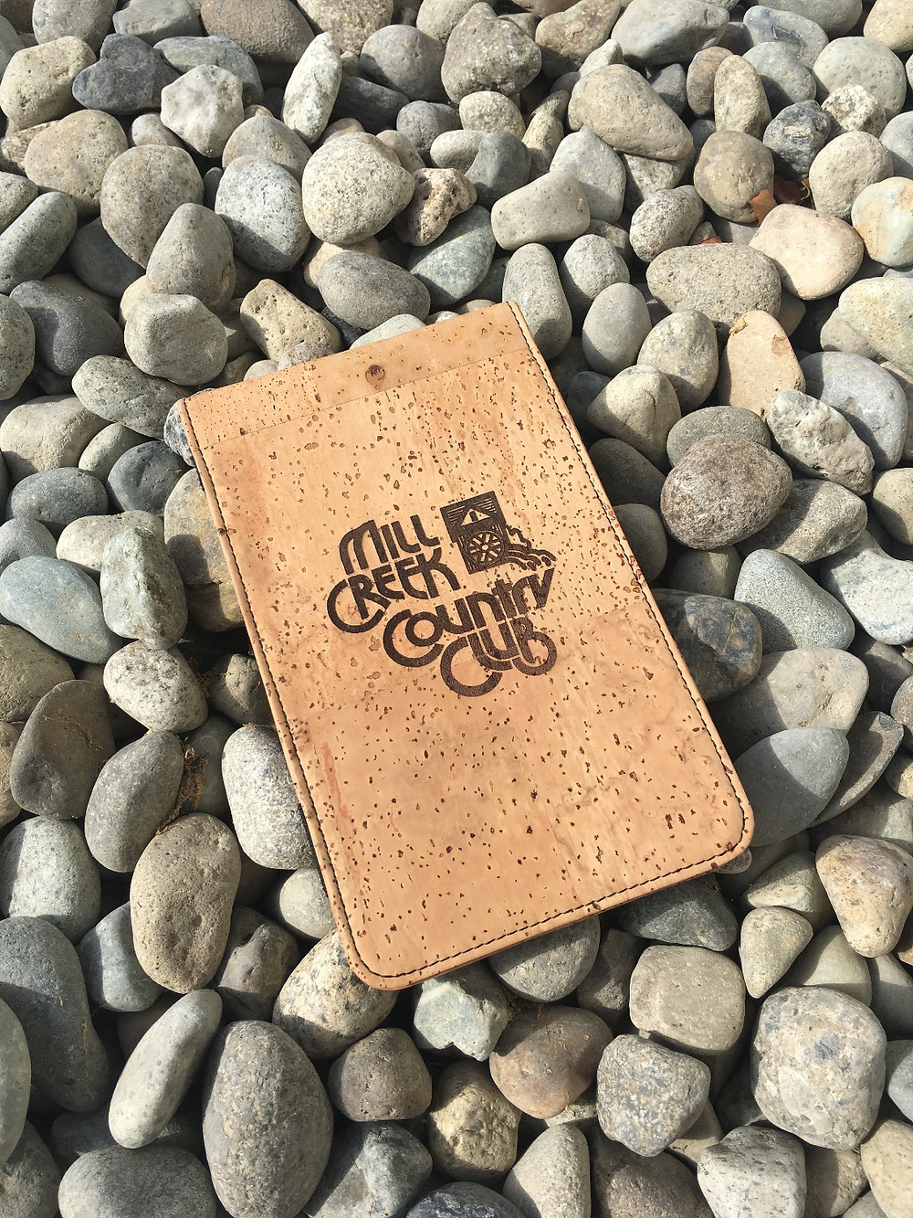 Cork Yardage Book Cover