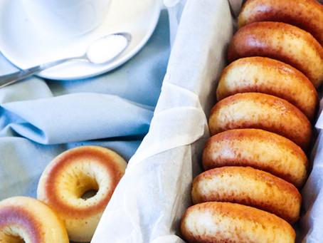 Donuts no forno