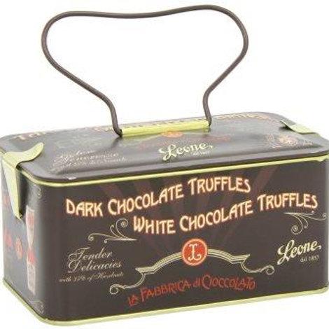 Chocolate Truffles in Black Jewel Case