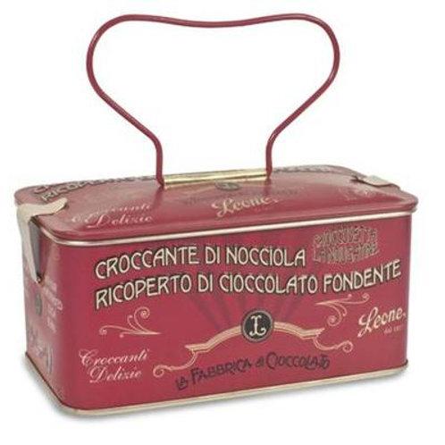 Chocolate Hazelnut Brittles in Red Jewel Case 150g