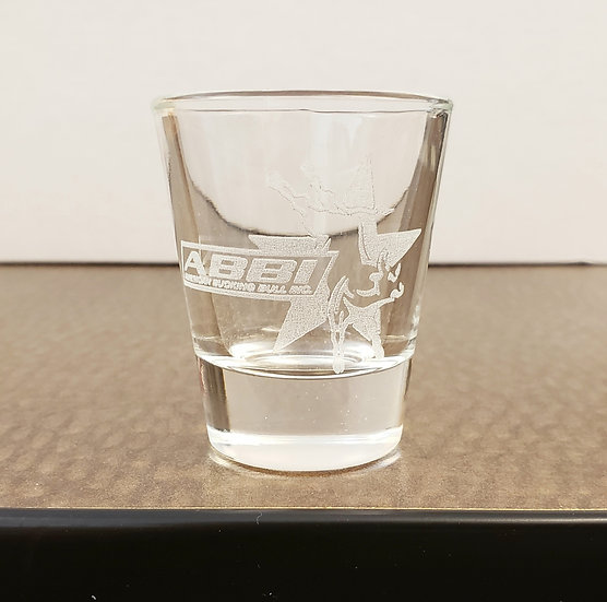 ABBI Logo Shot Glass