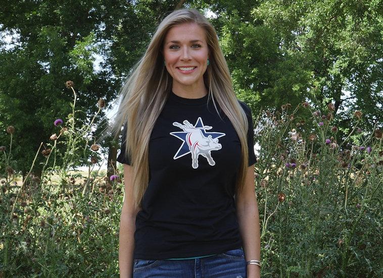 Black ABBI Logo T-Shirt