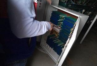 Электрический ящик системы подачи электричества на оборудование