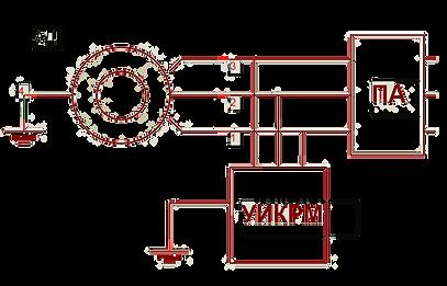 Схема подачи электричества