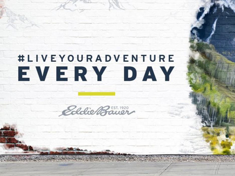 Eddie Bauer #LiveYourAdventure