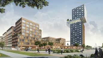 BluBrick Development verkrijgt overeenstemming ontwikkeling Taatsenplein Utrecht