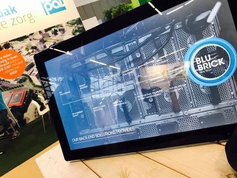 Lancering BluBrick Real Tech een leuk succes!