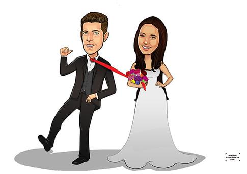 presente noivo dia casamento