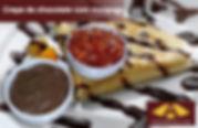 CHOCOLATE COM MORANGO