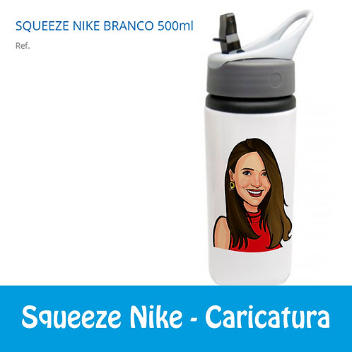 Squeeze Nike -Caricatura Busto