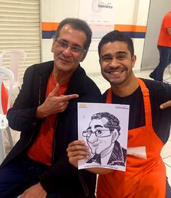 Caricatura de Davi sambarilove