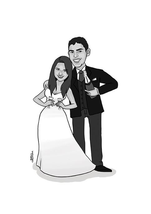 presente pais noivos
