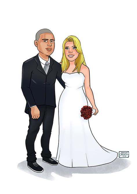 presente aos noivos