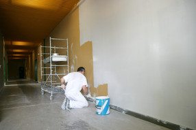 commercial painting Leicester