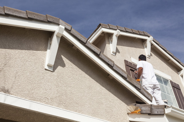 Exterior painting Leicester