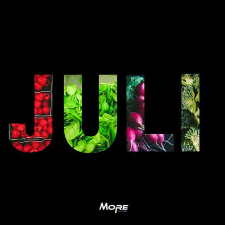 Seizoensgroenten en fruit: juli