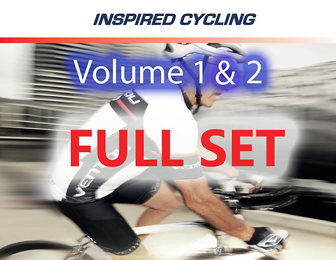 Inspired Cycling VOL1 & 2 Full Set (MP3)