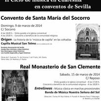 Cartel II ciclo conventos 2014