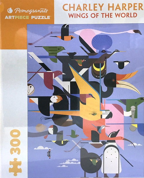 Wings of the World puzzle - 300 pieces - Charley Harper