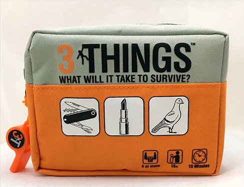3 Things - What Will You Do To Survive? - Ages 16+