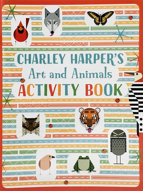 Art and Animals Activity Book - Charley Harper