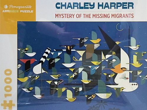 Mystery of the Missing Migrants puzzle - 1000 pieces - Charley Harper