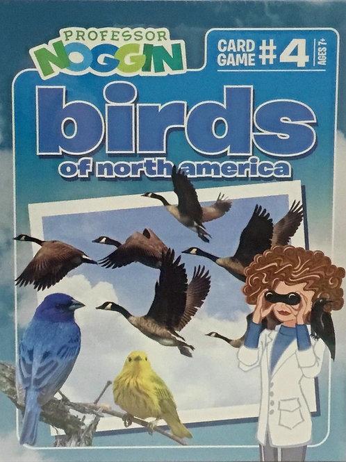 Birds of North America Trivia Game - Professor Noggin's - Ages 7+