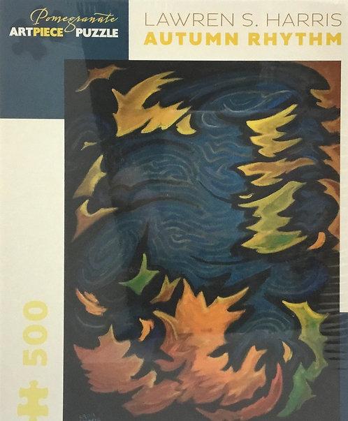 Autum Rhythm puzzle 500 pieces by Lawren S. Harris