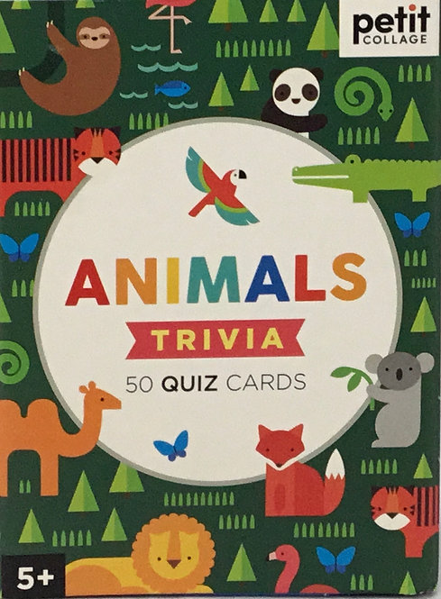 Animals Trivia Cards - Ages 5+