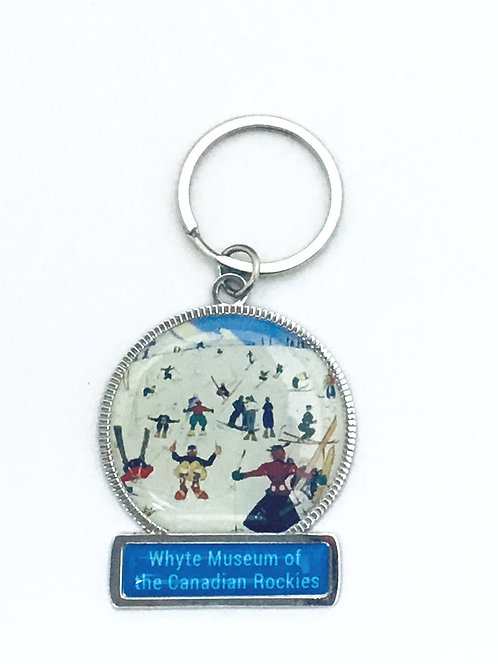 "Pete's ""Grandmother"", ca. 1925 - 1930, Enamel Keychain"