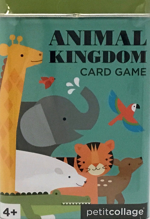 Animal Kingdom Card Game - Ages 4+