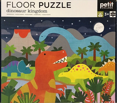 Dinosaur Kingdom floor puzzle 24 pieces - Ages 3+