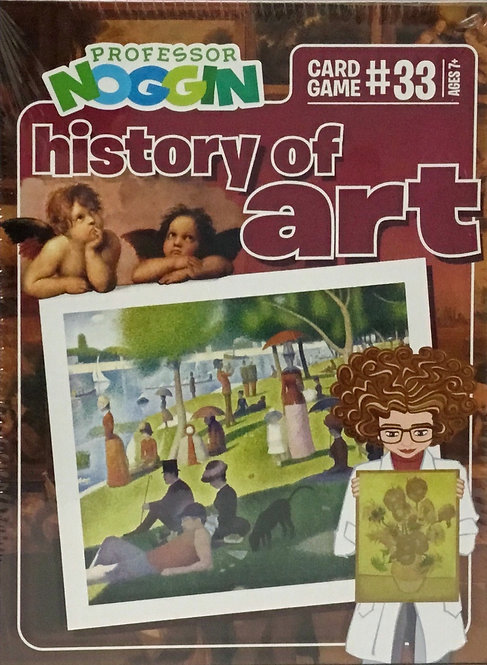 History of Art Trivia Game - Professor Noggin's - Ages 7+