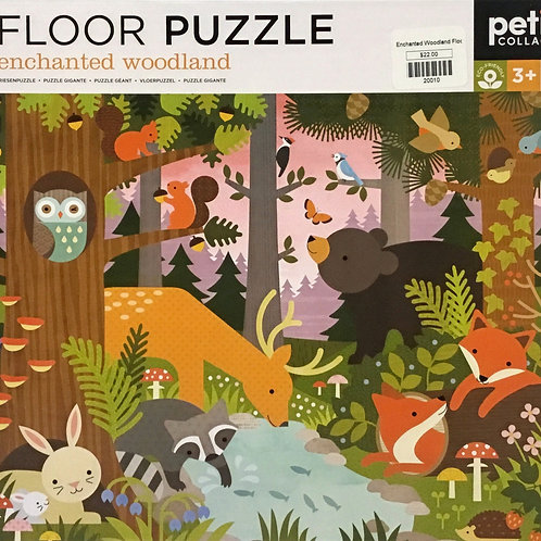 Enchanted Woodland floor puzzle 24 pieces - Ages 3+