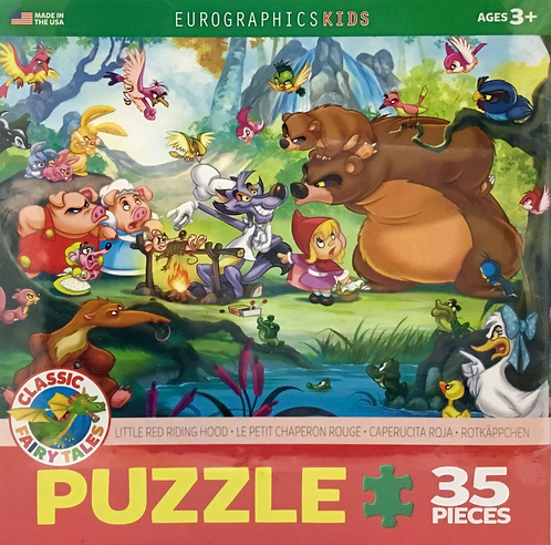 Little Red Riding Hood 35 pieces - Ages 3+