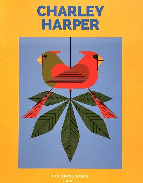 Charley Harper Colouring Book Volume 1