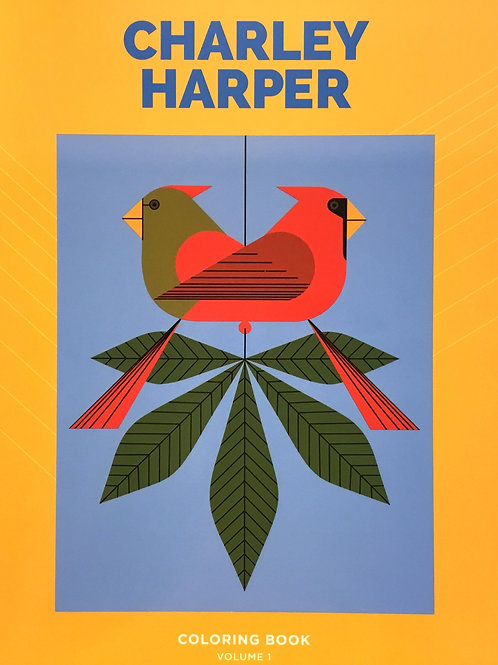 Charley Harper Colouring Book Volume 1
