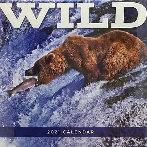 Wild 2021 - 12 Month Wall Calendar