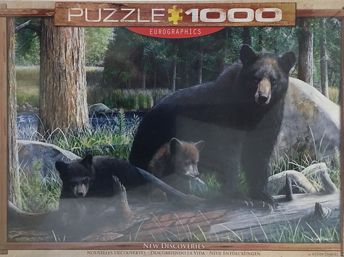 New Discoveries 3 Bears puzzle - 1000 pieces - Kevin Daniel