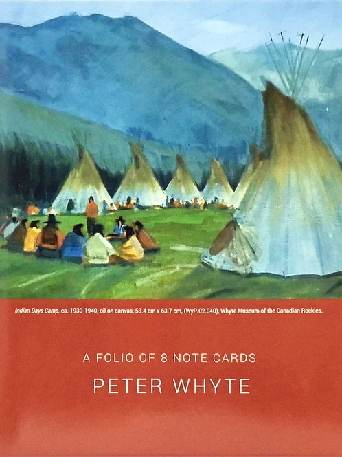 Peter Whyte Indigenous Notecards - Folio of 8
