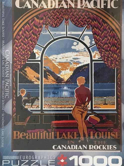 Beautiful Lake Louise CP puzzle 1000 pieces