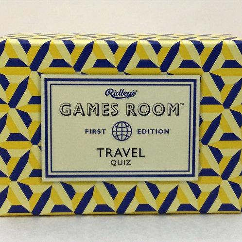 Travel Quiz - Games room Trivia - Adult