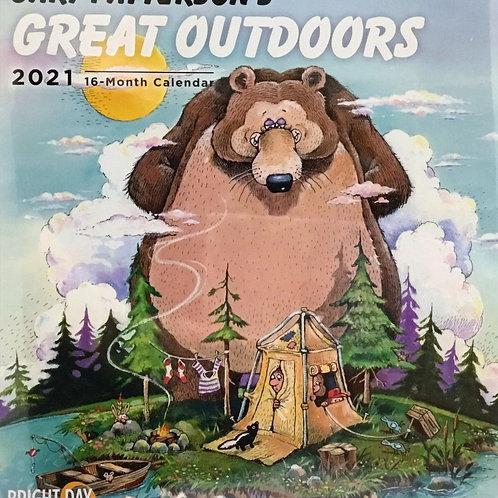 Great Outdoors 2021 Wall Calendar - Gary Patterson